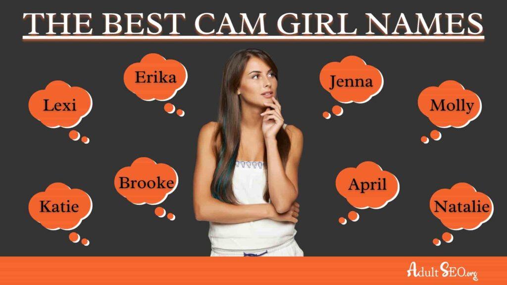 BEST CAM GIRL NAMES